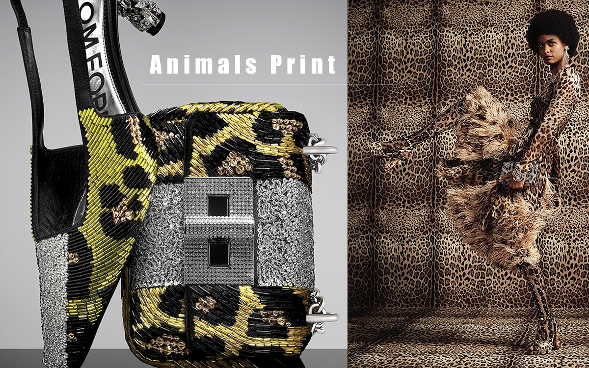 18FW Shoes Trend - Animals Print