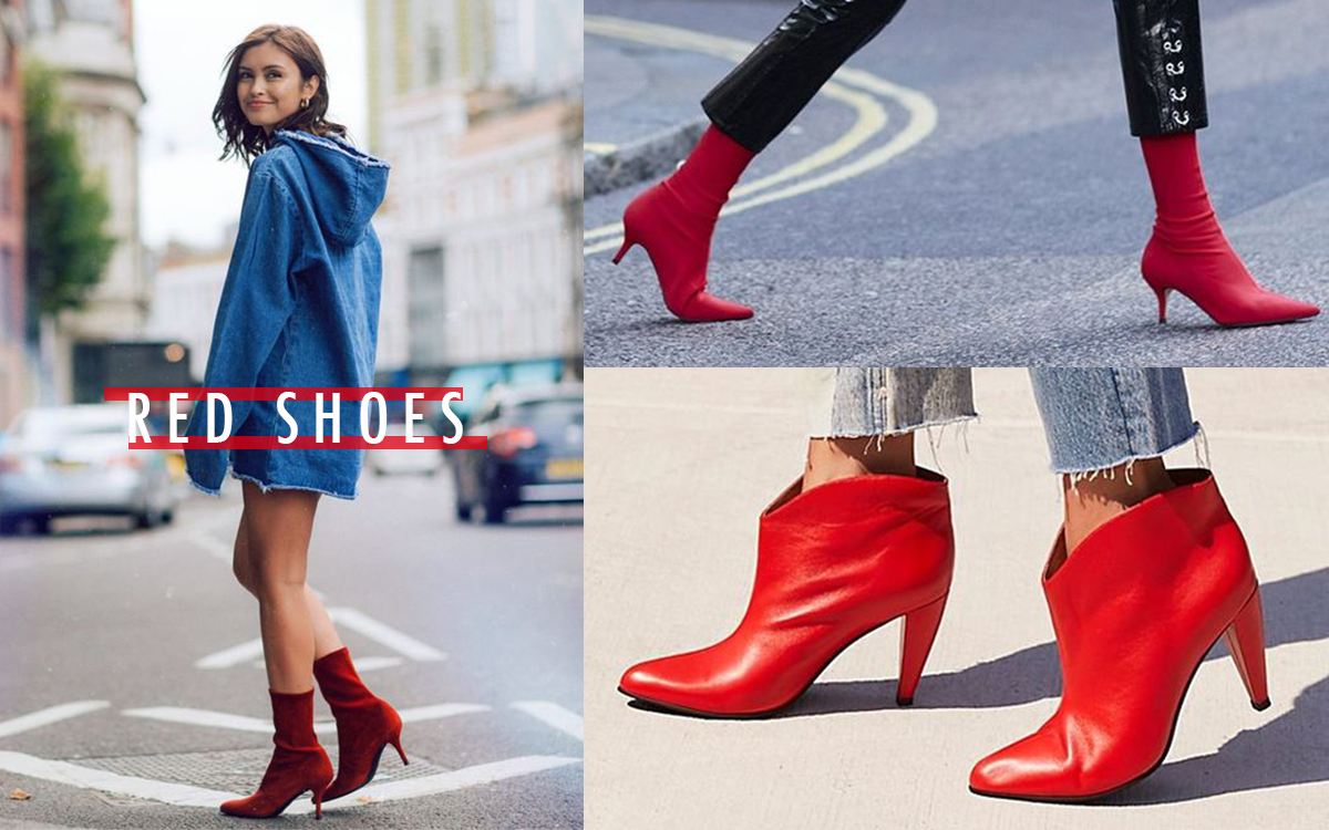 Red Shoes How To Styling?
