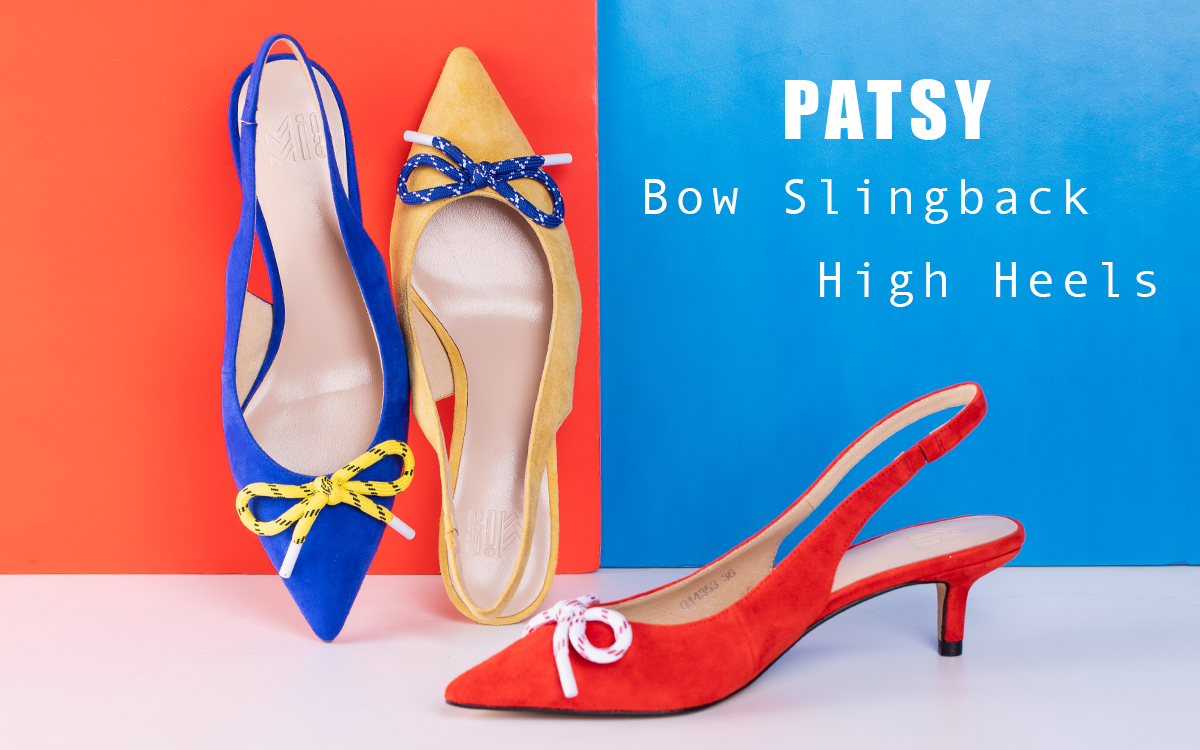 Special Offer - Bow Slingback High Heels