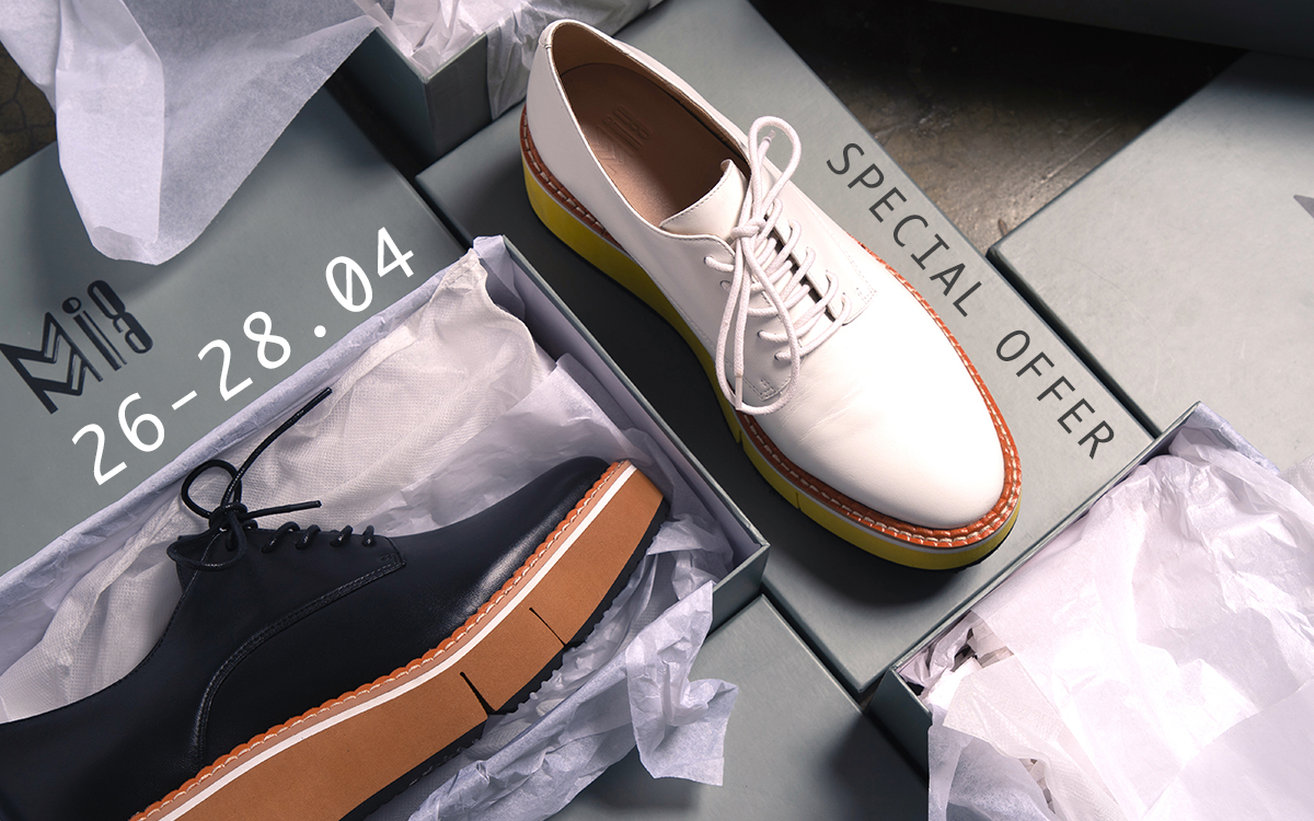 Special Offer - Platform Oxford Shoes