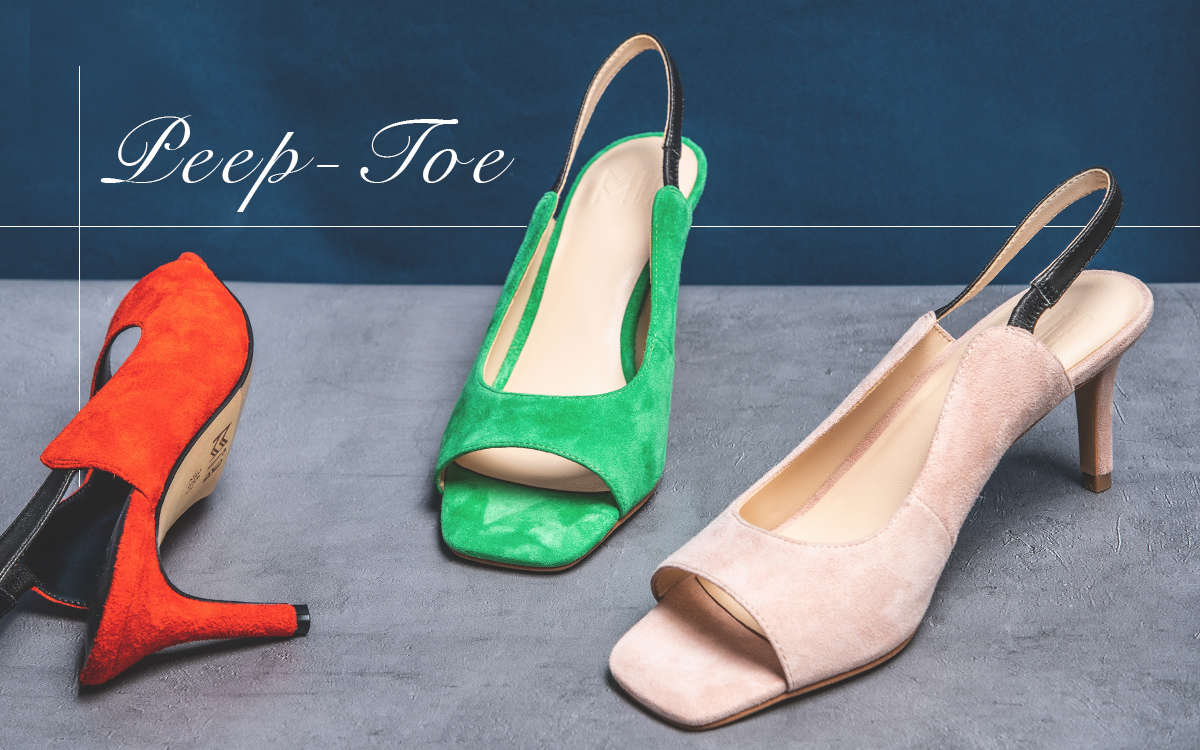 Peep-Toe Shoes Essential Style for SS19