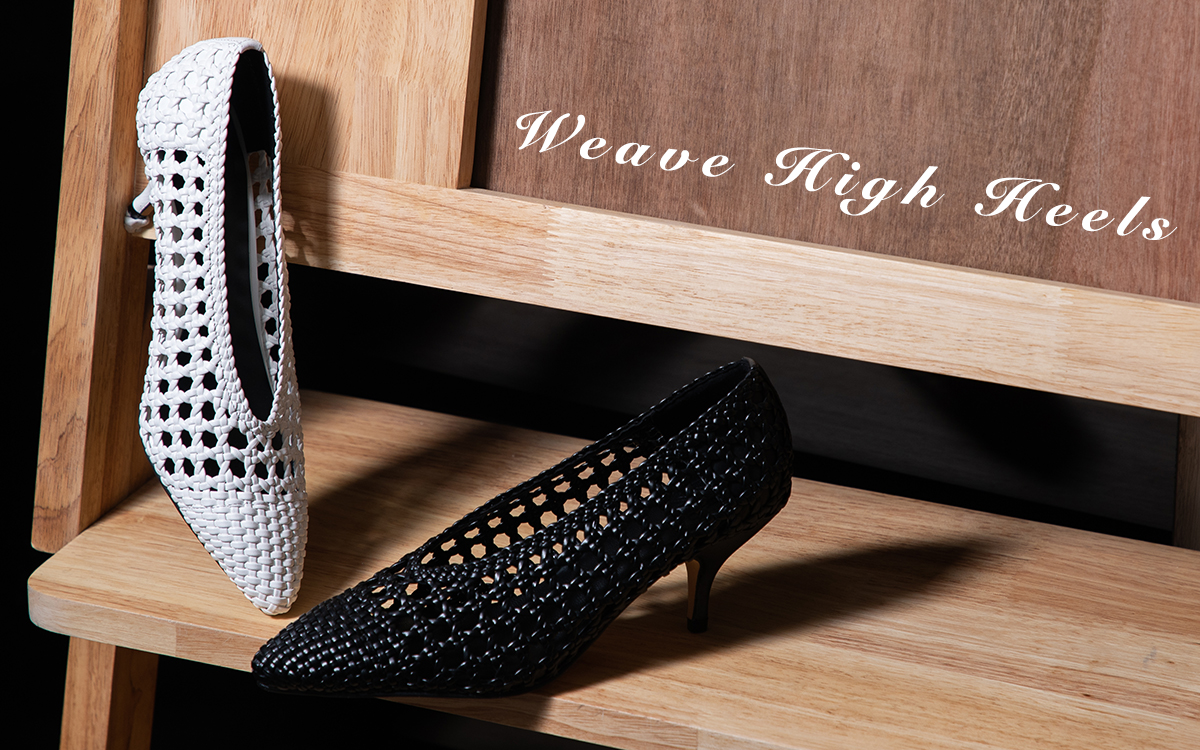 Special Offer - Weave High Heels