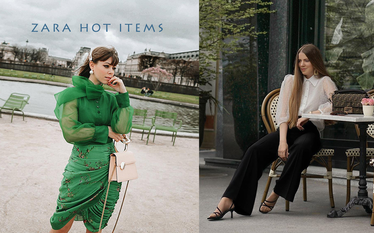 Zara Hot Items Have Same Ponit
