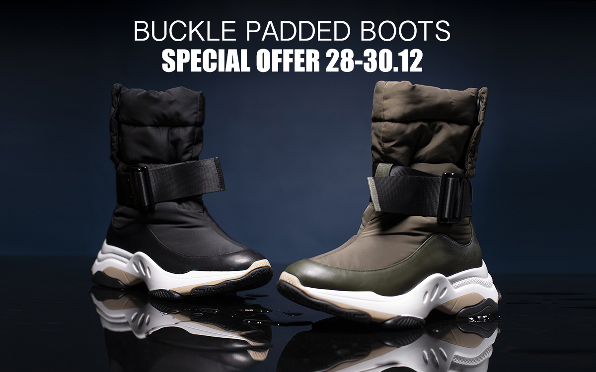 Special Offer - Buckle Padded Boots