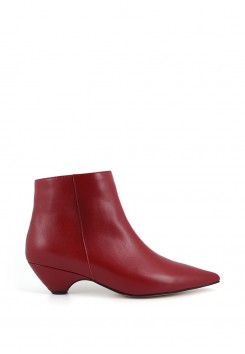 CONE HEEL ANKLE BOOTS