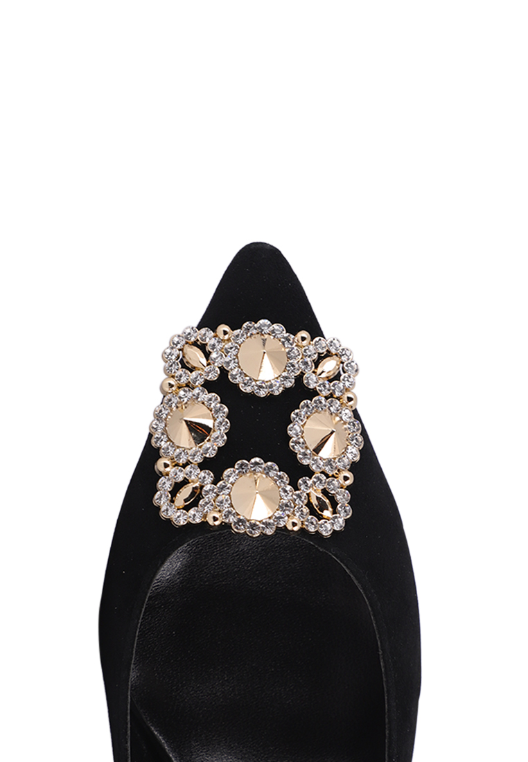 SPARKING BUCKLE HIGH HEELS